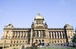 Nationalmuseum von Prag Stockfotografie