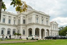 Nationalmuseum von Singapur lizenzfreies stockfoto