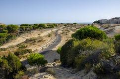 Nationalparc Dinana, νότια Ισπανία, Ευρώπη Στοκ Εικόνες