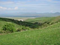 Nationalpark Aksu Djabagly in Kasachstan stockbilder