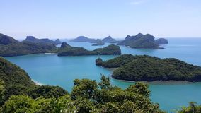 Nationalpark AngThong, Thailand Stockbild
