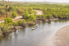 Nationalpark Ansicht Makasutu lizenzfreie stockfotografie