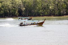 Nationalpark AO-Phang Nga Stockfoto