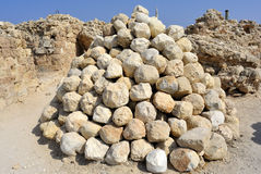 Nationalpark Apollonia, Israel Arkivfoton