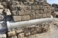 Nationalpark Apollonia, Israel Arkivbild