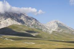 Nationalpark av Gran Sasso och Monti della Laga royaltyfria bilder