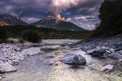 Nationalpark av ordesaen, Spanien royaltyfria bilder