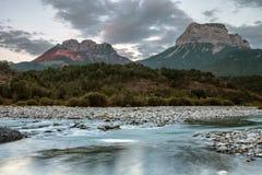 Nationalpark av ordesaen, Spanien royaltyfri bild