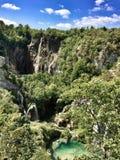 Nationalpark av Plitvice sjöar Arkivfoto