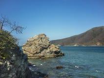 Nationalpark Bahia Concha Beach Tayrona Stockbild