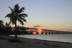 Nationalpark Bahia-Honda Stockbilder