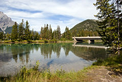 Nationalpark Banffs, Alberta, Kanada Stockbilder