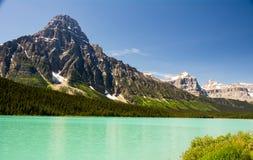 Nationalpark Banffs und des Jaspisses, felsiger Berg, lizenzfreie stockfotografie