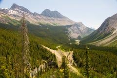 Nationalpark Banffs und des Jaspisses, felsiger Berg, Tunnelberg stockbilder
