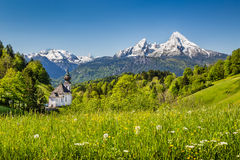 Nationalpark Berchtesgadener Land, Bavaria, Germany Royalty Free Stock Images
