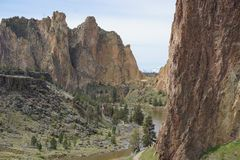 Nationalpark-Berg Serene Day Oregons stockfoto