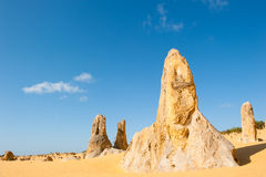 Nationalpark Berggipfel Nambung Stockfoto