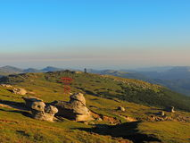 Nationalpark Bucegi Stockfotos