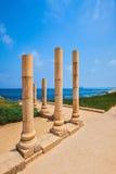 Nationalpark Caesarea auf Mittelmeerküste lizenzfreie stockbilder