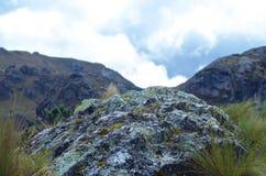 Nationalpark Cajas stockbilder