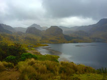 Nationalpark Cajas lizenzfreie stockfotos