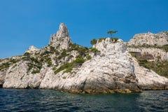 Nationalpark Calanques, Frankreich lizenzfreies stockbild