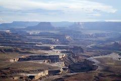 Nationalpark Canyonlands Stockfotos