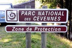 Nationalpark Cevennes lizenzfreie stockbilder