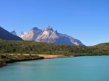 Nationalpark Chile Torres Del Paine stockbild