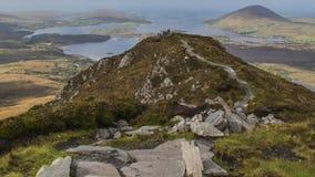 Nationalpark Connemara - Irland Stockbilder