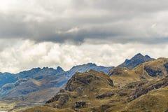 Nationalpark Cuenca Ecuador Cajas Stockbild