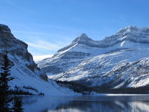 Nationalpark des Bow See-, Banff Lizenzfreies Stockbild