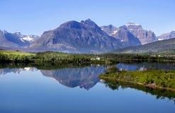Nationalpark des Gletschers Stockfotos