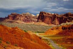 Nationalpark des Kapitolriffs Stockbild