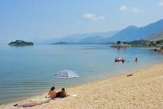 Nationalpark des Skadar Sees stockfotos