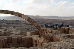 Nationalpark Ein Avdat, Wüste Negev, Israel Lizenzfreies Stockfoto