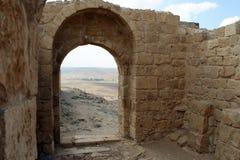 Nationalpark Ein Avdat, Wüste Negev, Israel Stockfoto