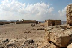 Nationalpark Ein Avdat, Wüste Negev, Israel Lizenzfreie Stockfotografie