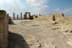 Nationalpark Ein Avdat, Wüste Negev, Israel Stockfotos