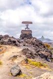 Nationalpark EL Diablo - Timanfaya Lizenzfreie Stockfotos