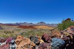 Nationalpark EL Teide, Teneriffa, Kanarische Inseln, Spanien Stockbild