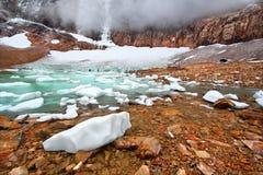 nationalpark för ängelglaciärjasper Royaltyfria Foton