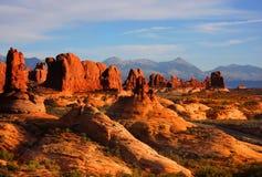 nationalpark för 25 bågar Arkivfoton