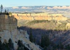 nationalpark för brycekanjonliggande Arkivfoton