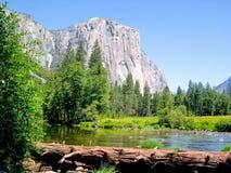 Nationalpark för El Capitan Yosemite, Kalifornien, USA fotografering för bildbyråer