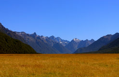 nationalpark för fiordlandliggandeberg Royaltyfri Bild