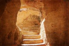 Nationalpark för grottaar Bet Guvrin israel arkivfoto
