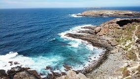 Nationalpark för jakt för Flinders för havsikt @ Royaltyfri Bild