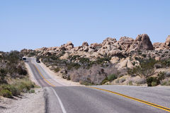 Nationalpark för Joshua träd, Kalifornien, Förenta staterna royaltyfri foto