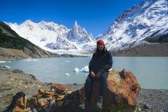 Nationalpark för Los Glaciares Fotografering för Bildbyråer